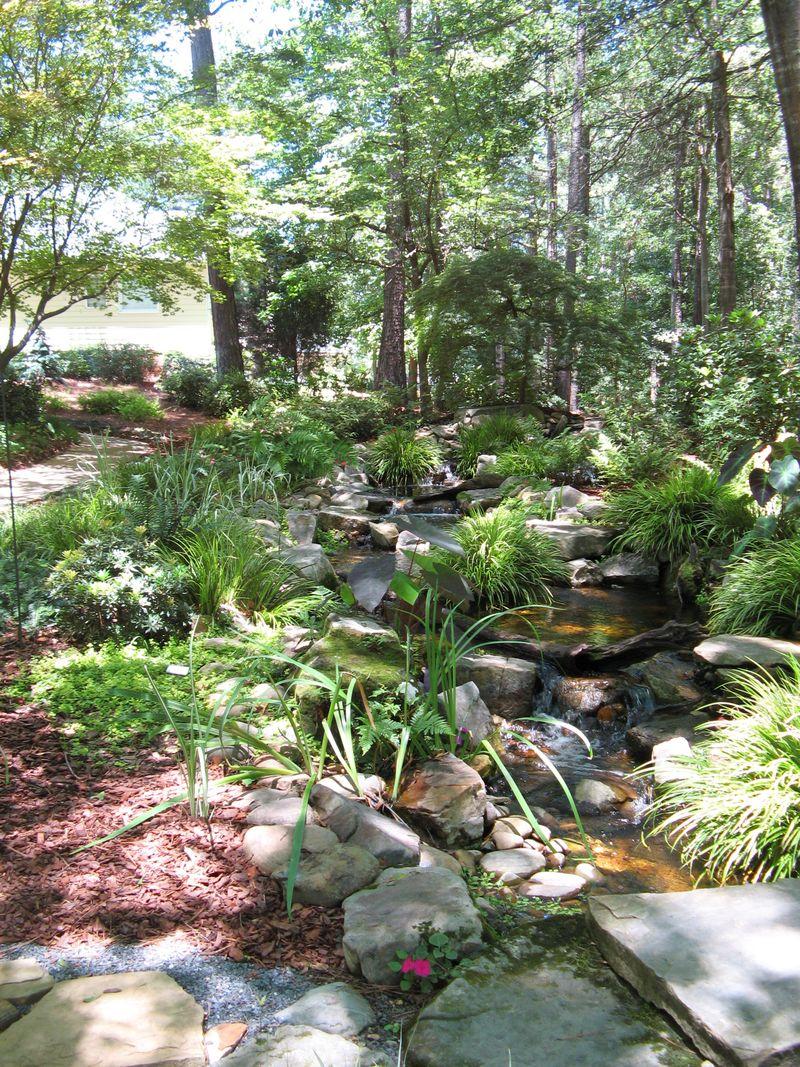 A Henry County Georgia Garden Tour 2012 creek
