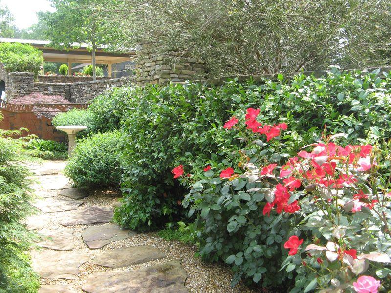Athens Garden Tour 2012 courtyard roses