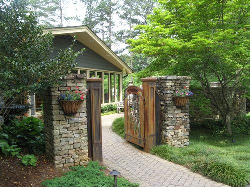 Athens Garden Tour 2012 courtyard gate entrence