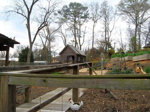 Indian Springs Georgia Whimsical Garden walkway