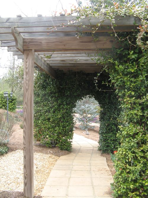 Indian Springs Georgia Whimsical Garden pergola