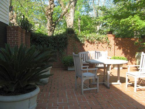 Athens Georgia Garden Tour 2013 courtyard