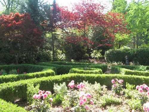 Athens Georgia Garden Tour 2013 parterre garden overviews