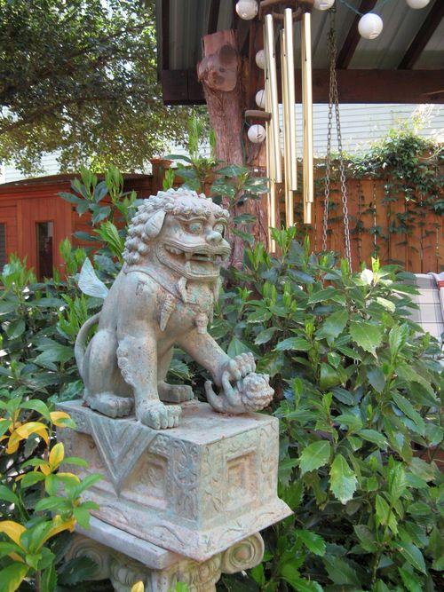 Athens Georgia Garden Tour 2013 statue