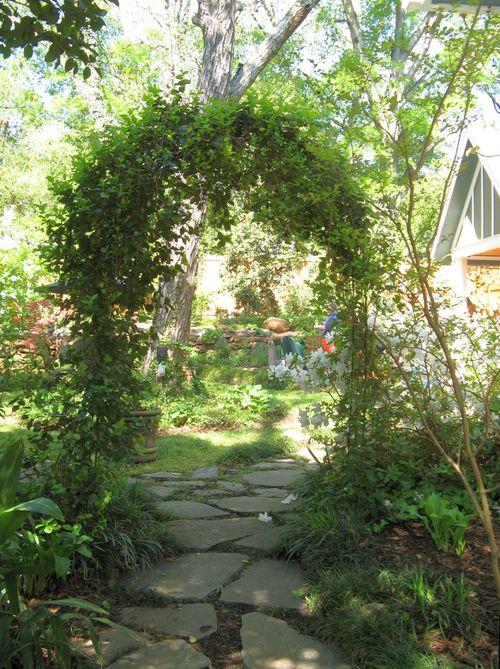 Athens Georgia Garden Tour 2013 archway