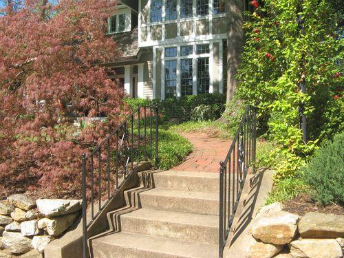 Athens Georgia Garden Tour 2013 front steps