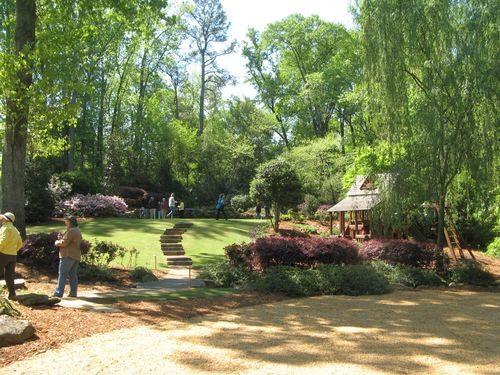 Athens Georgia Garden Tour 2013 back garden
