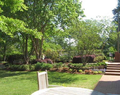 Athens Georgia Garden Tour 2013 view from courtyard