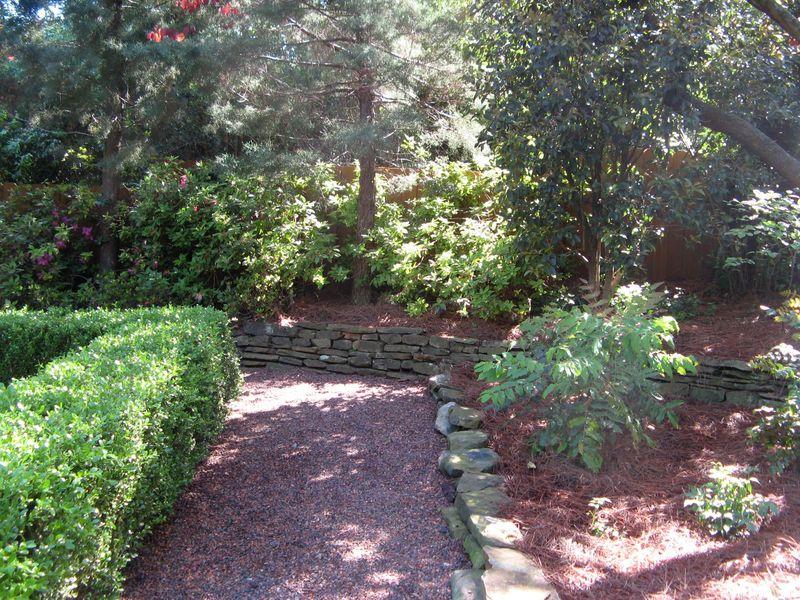 Athens Georgia Garden Tour 2013 parterre garden path