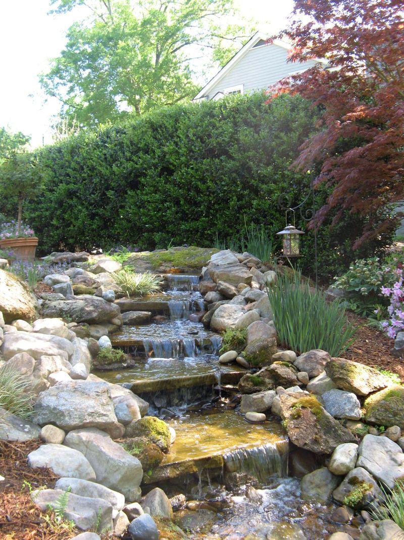 Athens Georgia Garden Tour 2013 waterfall