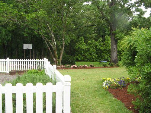 Macon Georgia Garden Tour 2013 white fence